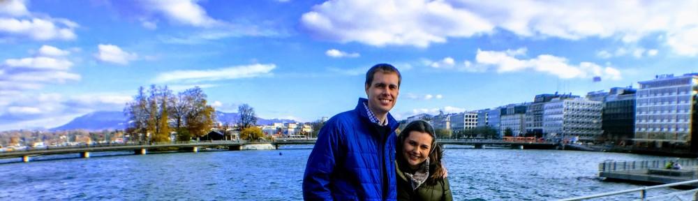 Us on Lake Geneva (Lac Leman)