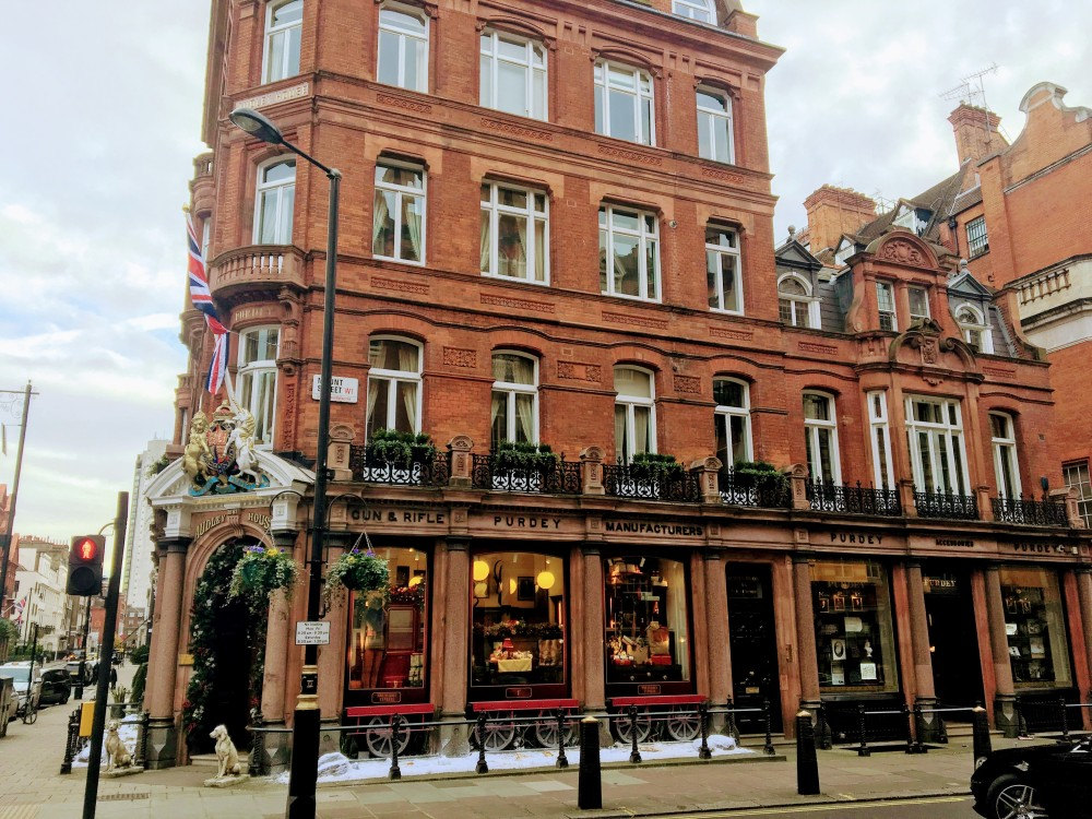 The Audley Pub in Mayfair