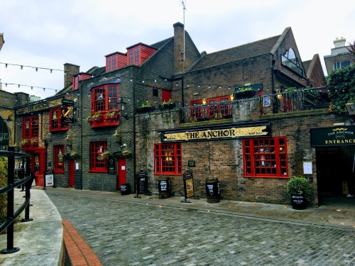 The Anchor Pub in Southwark