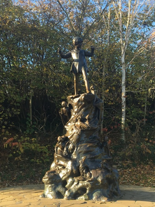 Peter Pan Statue in Hyde Park