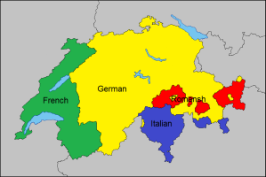 Map of Switzerland Languages - taken from Reddit: https://www.reddit.com/r/MapPorn/comments/5aoag2/language_map_of_switzerland_1049_x_703/