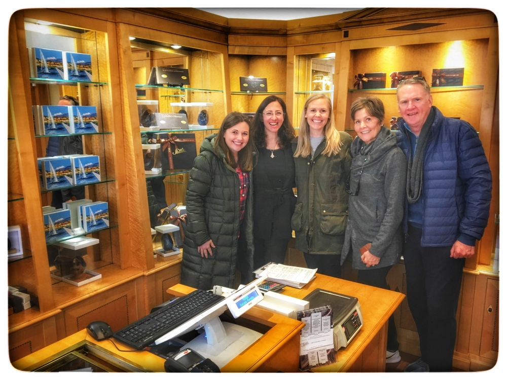 A great tour with Francesca and my awesome in-laws!