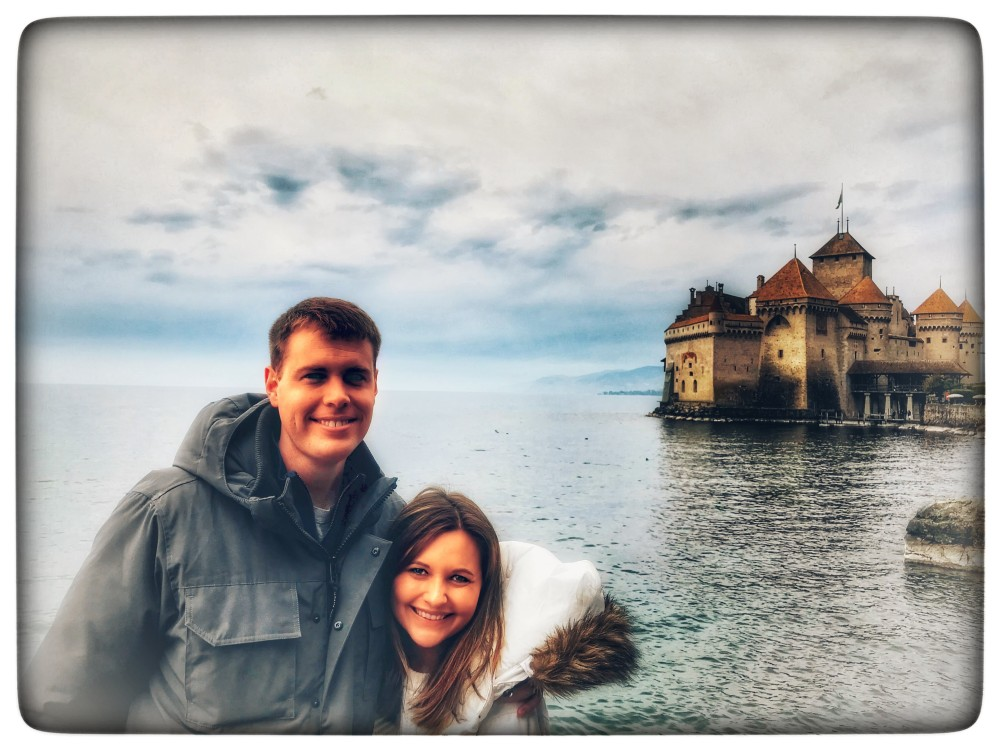 Disney moment at Chillon Castle