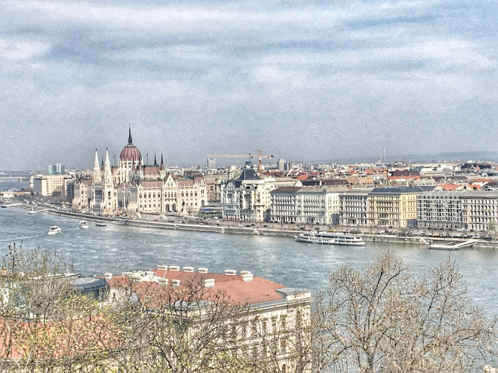 Views of Parliament on the Danube!