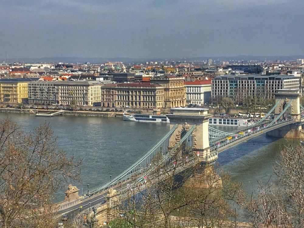 Views of the Chain Bridge