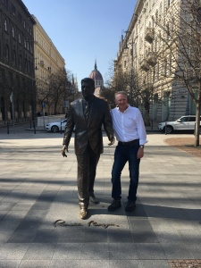 Bob with Ronald Reagan