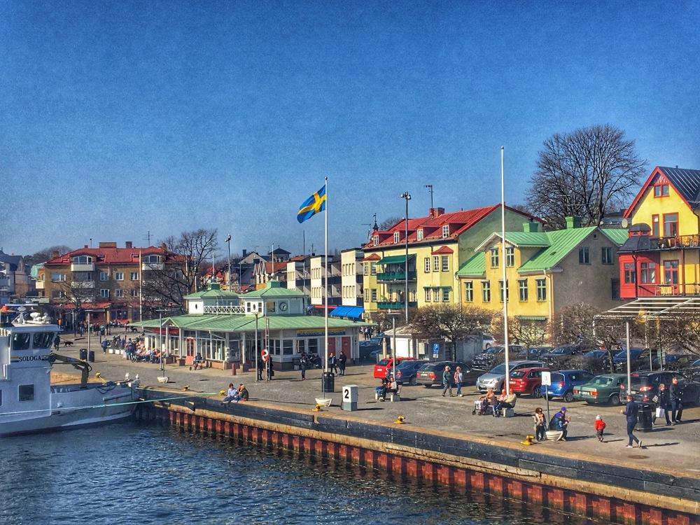 town of Vaxholm