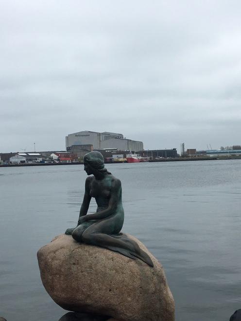 The Little Mermaid statue celebrates HCA