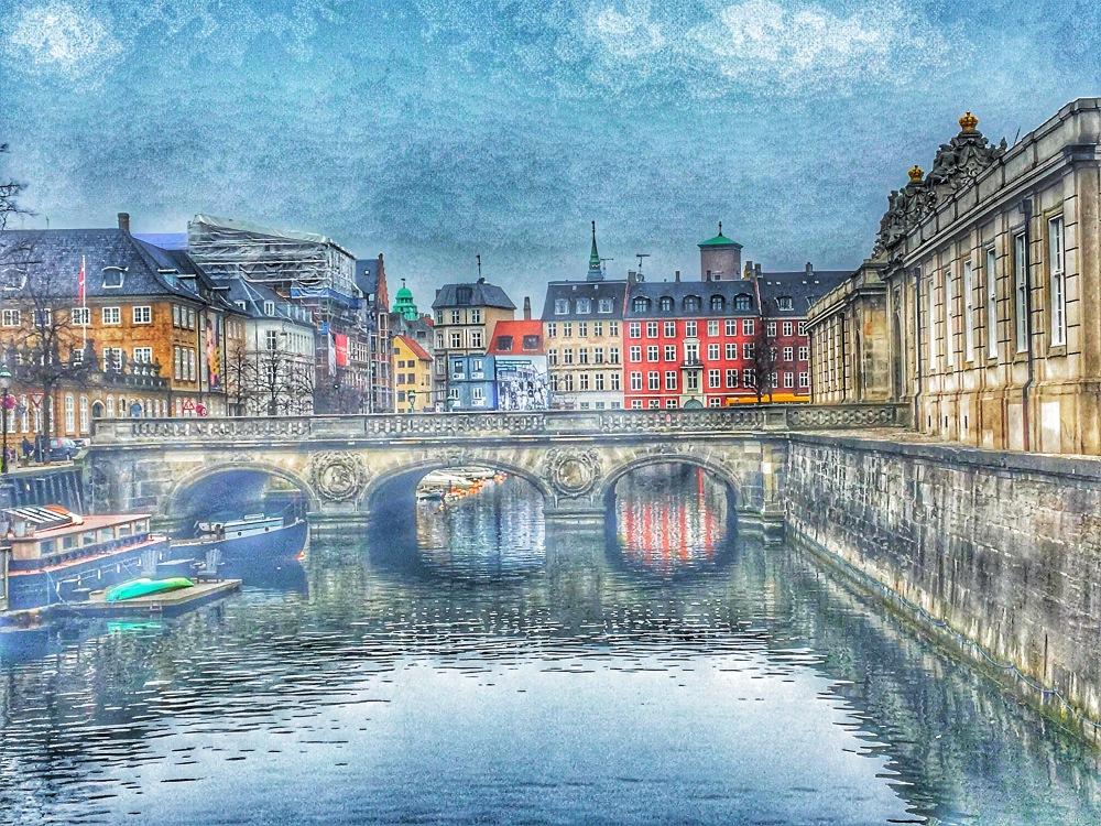 Copenhagen bridge view
