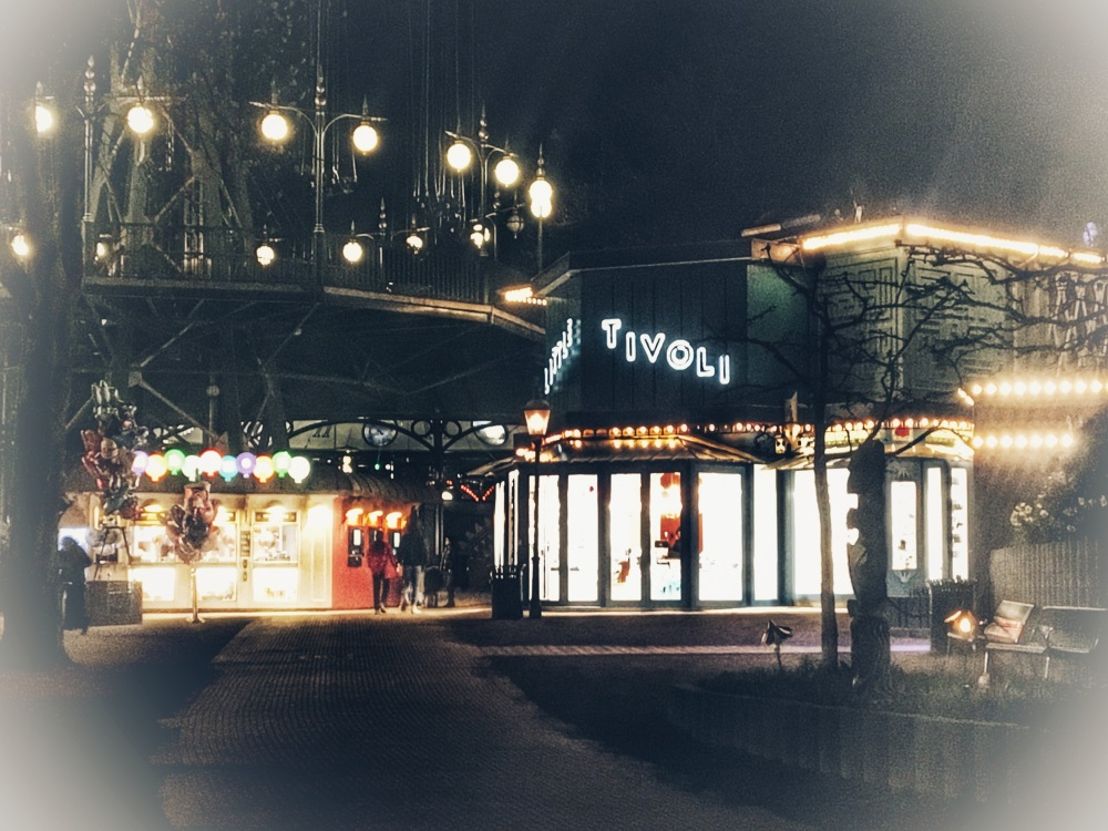 Tivoli at night