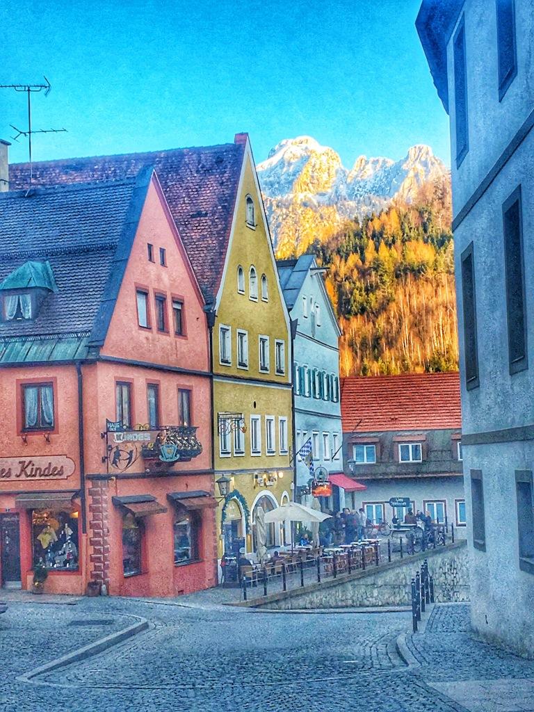 town of Fussen