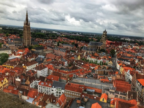 Views from the top of the Belfry