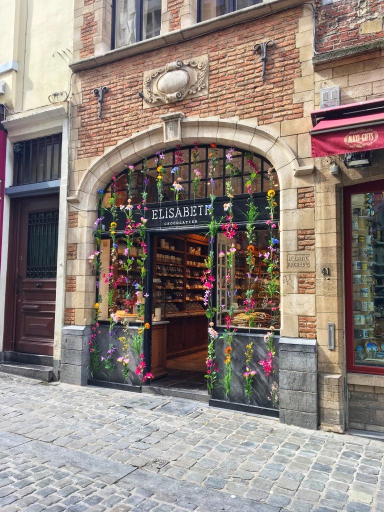 A beautiful Chocolate shop