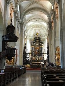 Inside of Luzern Church