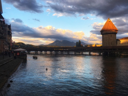 Evening Views in Luzern