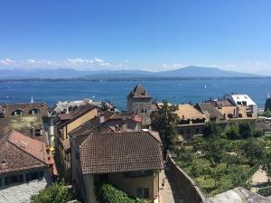 Views from Nyon