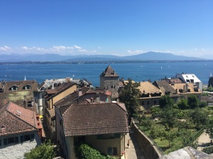 Views from Nyon