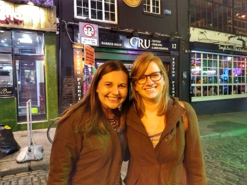 Erin and Nicole in Dublin