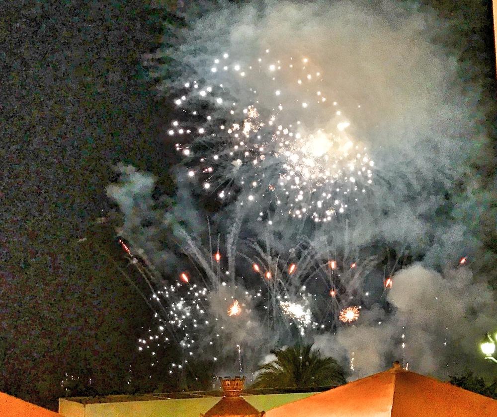 fireworks in Monaco