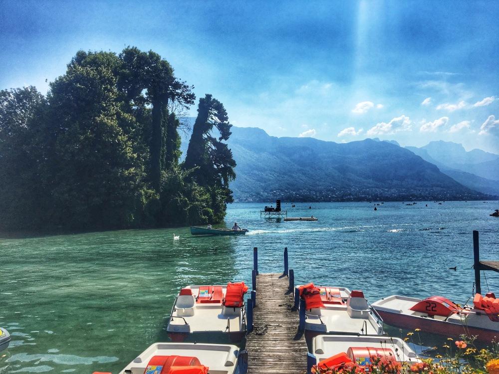 beautiful Lake Annecy views
