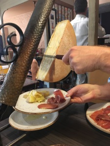 raclette in Annecy
