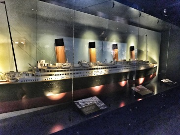 Model of Titanic