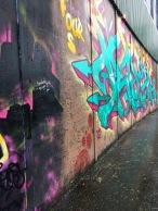 street art on the Peace wall