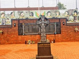 Memorial of Victims in Falls Road Neighborhood