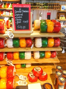 Cheese Display in Volendam