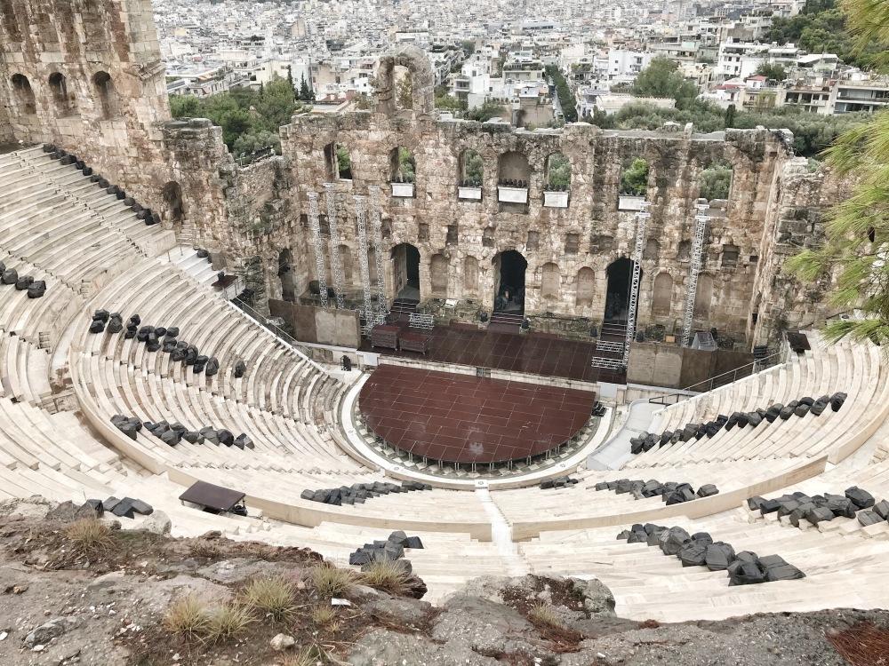 Theater on Acropolis