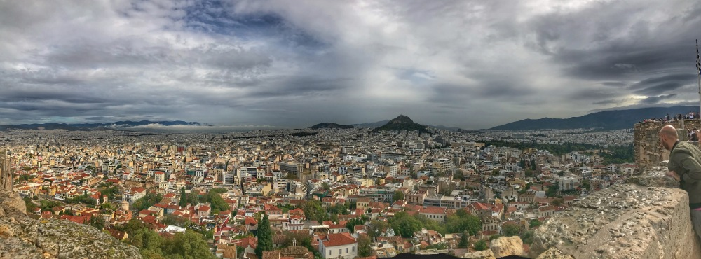 Panoramic view from Acropolis