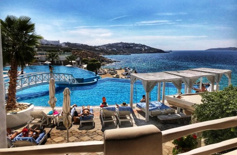 Pool View at St. John Villas in Mykonos