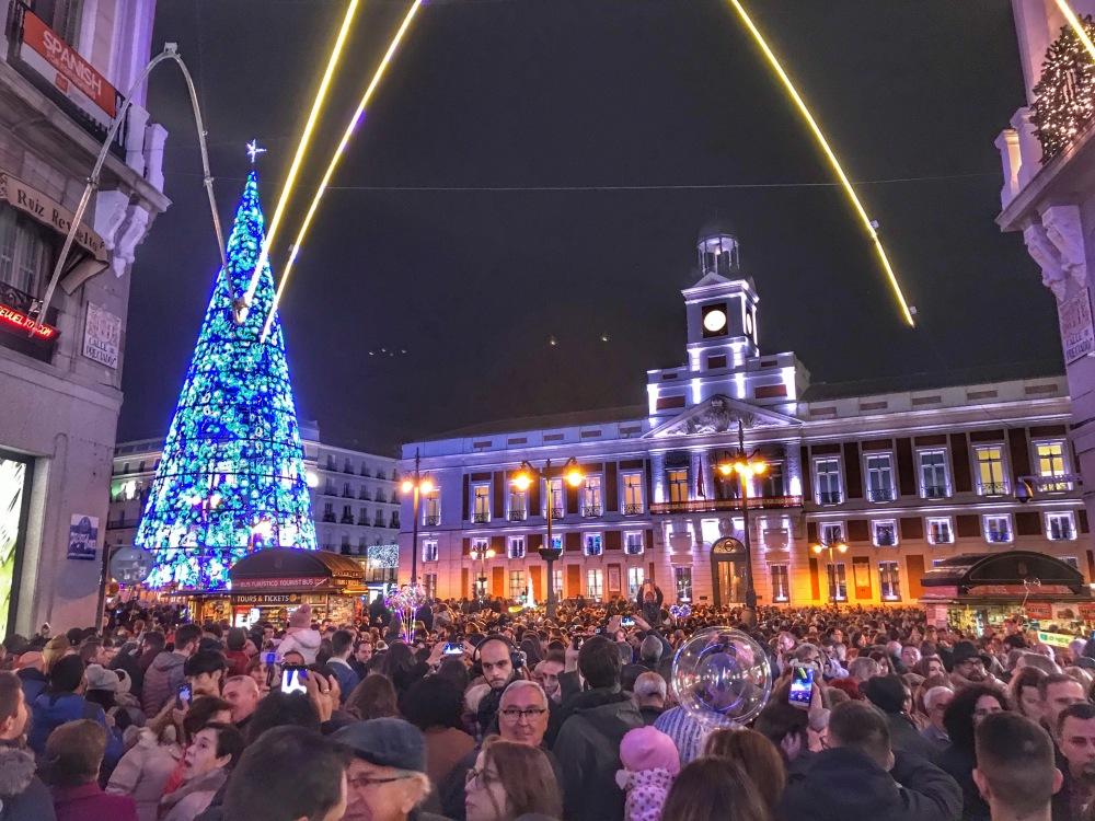Madrid Kicking off Christmas!