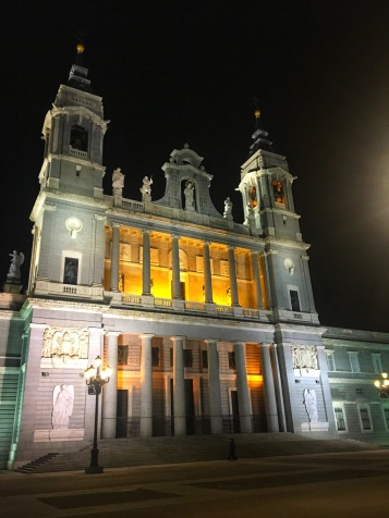 Cathedral in Madrid