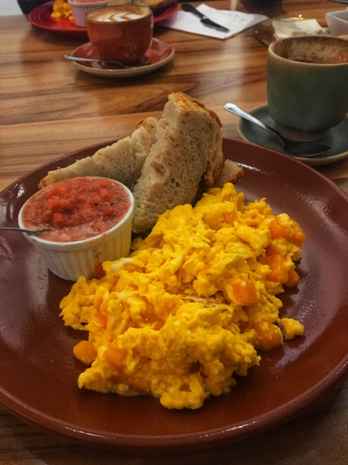 Perfect Egg Scramble at Santa Eutalia