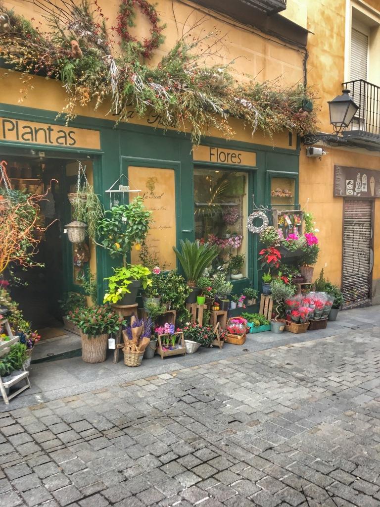 Wandering Madrid Streets