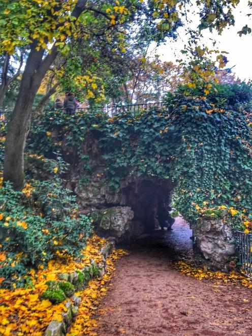 Foliage at Retiro Park