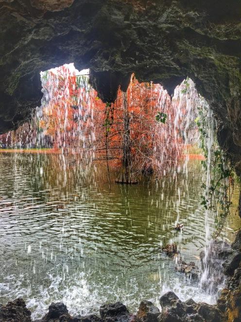 Waterfall Retiro Park