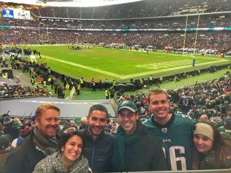 Group at Eagles
