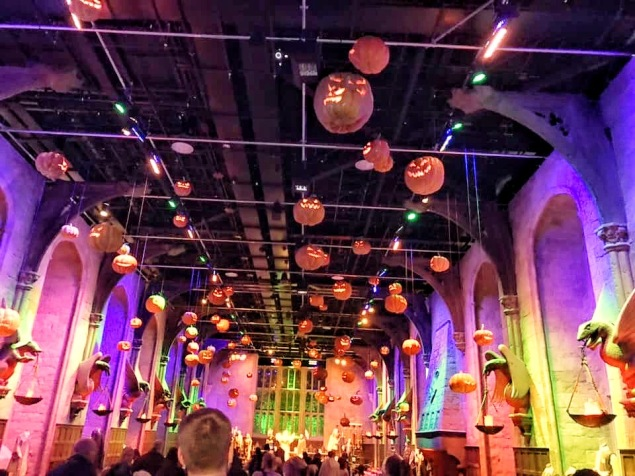 Halloween in the Great Hall!