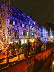 Petite Venice Light Show in Colmar