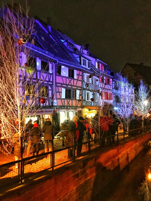 Petite Venice Light Show in Colmar