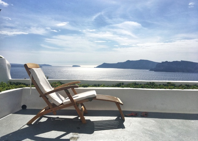 Favorite Chair in Santorini