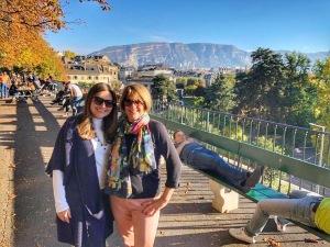 Mom in Geneva