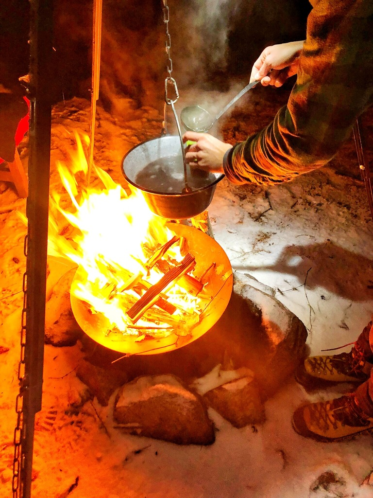Fire in Trient