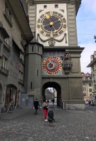 Mom and James Bern Clock