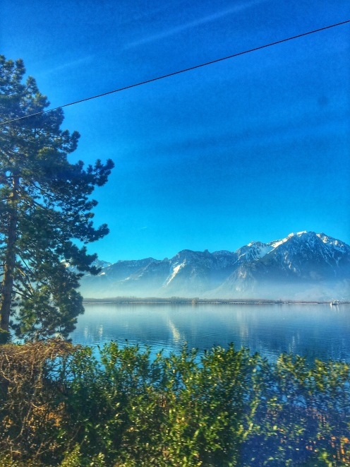Swiss train views