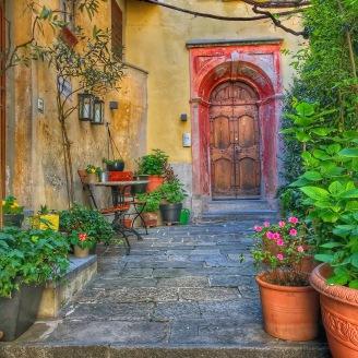 Gandria doorway