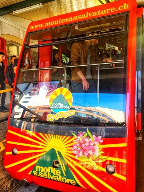 Cable car Lugano