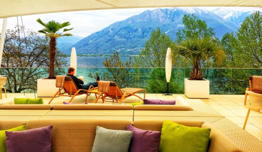 Roofdeck in Locarno